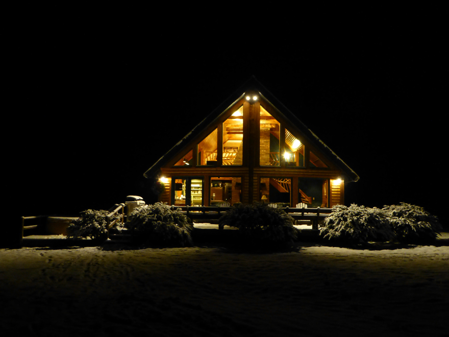 Stowe Log Chalet Vacation Rental House In Stowe Vt